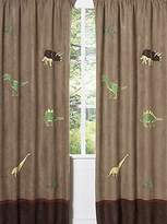 JoJo Designs Sweet Dinosaur Window Treatment Panels - Set of 2