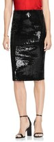 Vince Camuto Women's Sequin Pencil Skirt