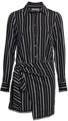Derek Lam 10 Crosby Eunice Stripe Shirtdress