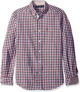 Nautica Men's Classic Fit Marine Check Shirt