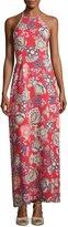 Yumi Kim Flawless Halter-Neck Maxi Dress, Multi Pattern