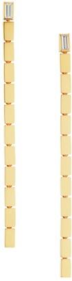 Maria Canale Barre 18K Yellow Gold & Diamond Drop Earrings