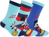 Disney Mickey Mouse & Friends Childrens/Boys Ankle Socks (Pack Of 3)