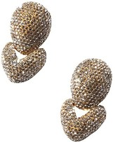 Thumbnail for your product : Lele Sadoughi Crystal Hinged Drop Earrings