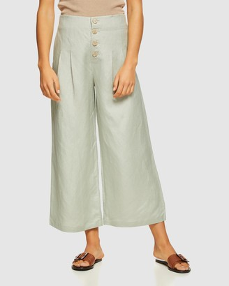 Oxford Sophie Button Front Pants