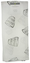 Threshold Kitchen Towel Floursack Silver Cups