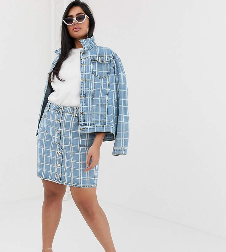 7d9640da4a Detailed Denim Skirt - ShopStyle