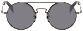 Yohji Yamamoto Black YY7018 Sunglasses