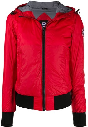 Canada Goose Logo Patch Padded Jacket
