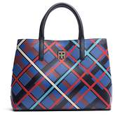 Tommy Hilfiger Leather Patchwork Tote