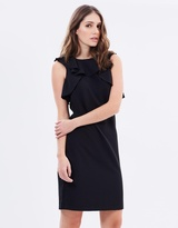 Vero Moda Ruffle Pencil Dress
