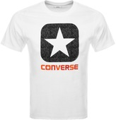 Converse Box Star Logo T Shirt White