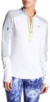 New Balance Precision Half Zip Long Sleeve Shirt