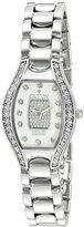 Croton Women's CN207534SSPV Analog Display Quartz Silver Watch