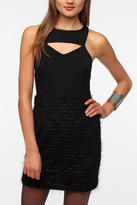 Silence & Noise Nicki Eyelash Dress