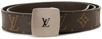 Louis Vuitton Pre-Owned Logo Buckle Belt