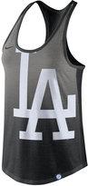 Nike Women's Los Angeles Dodgers Triblend Fade Tank