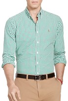 Polo Ralph Lauren Gingham Cotton Oxford Classic Fit Button Down Shirt