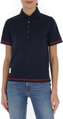 Thom Browne Buttoned Polo Shirt