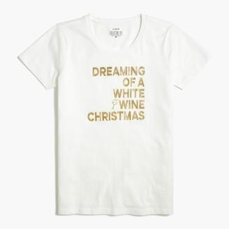 J.Crew Dreaming of wine graphic tee