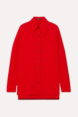 Kwaidan Editions Wool-blend Shirt - Red