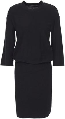 James Perse Slub Stretch-cotton Jersey Mini Dress