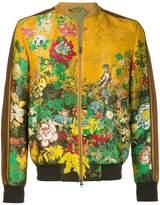 Etro Floral Bomber Jacket