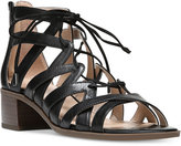 Franco Sarto Ocean Block-Heel Lace-Up Sandals