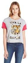 Juicy Couture Black Label Women's Knt Viva La Graphic Tee