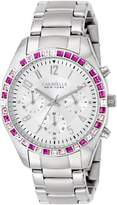 Bulova Caravelle New York Women's 43L172 Analog Display Japanese Quartz White Watch