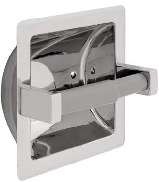Franklin Brass Century Recessed Toilet Paper Holder, Bright Stainless Steel