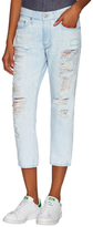 AG Adriano Goldschmied Drew Distressed Ankle Jean