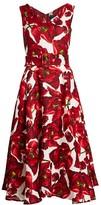 Samantha Sung April Sleeveless Tulip Midi Dress