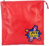 Yazbukey Love Galaxy clutch bag