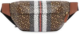 Burberry Medium Monogram Stripe E-canvas Bum Bag