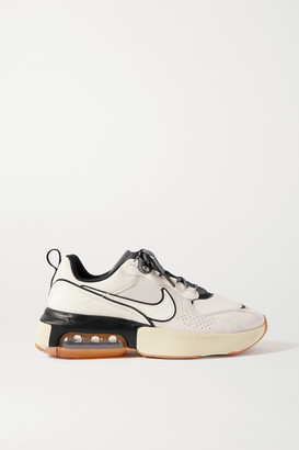 Nike Air Max Verona Leather And Nubuck Sneakers - White