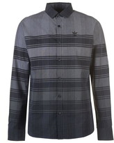 Firetrap Long Sleeve Check Shirt Mens