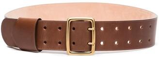 Chloé Franckie wide leather belt