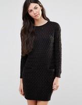 Lavand Black Shift Dress with Pockets