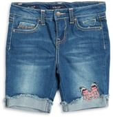 Vigoss Girl's Denim Bermuda Shorts