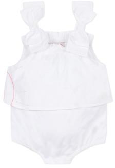 Lili Gaufrette NOLENI girls's Jumpsuit in White