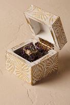 Anthropologie Gilded Garden Ring Box