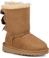 Sole Society Kids Bailey Bow suede bow boot
