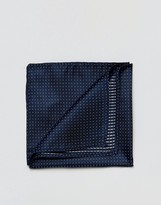 Jack and Jones Pocket Square With Spot In Blue