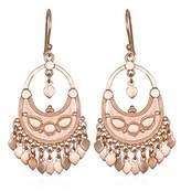 Satya Jewelry Womens Petal Drop Earrings