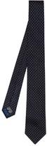 Paul Smith Pin-dot Jacquard Silk Tie