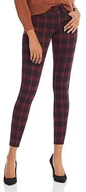 Joe's Jeans The Icon Skinny Ankle Jeans in Crimson Plaid - 100% Exclusive