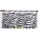JoJo Designs Funky Zebra Window Valance by Sweet