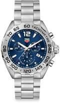Tag Heuer Formula 1 43MM Stainless Steel Quartz Chronograph Bracelet Watch