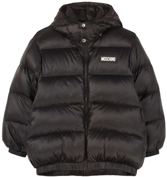 Moschino Hooded Full-zip Down Jacket